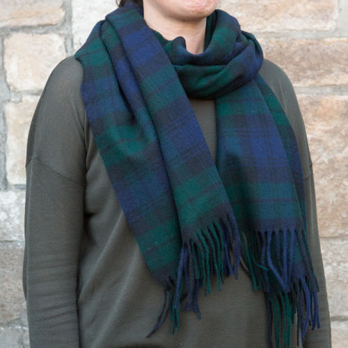 Scarf - Tartan 50cm - Black Watch