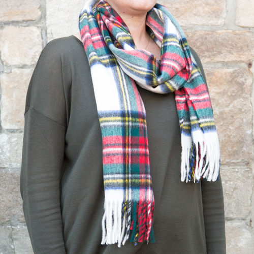 Scarf - Tartan 50cm - Dress Stewart