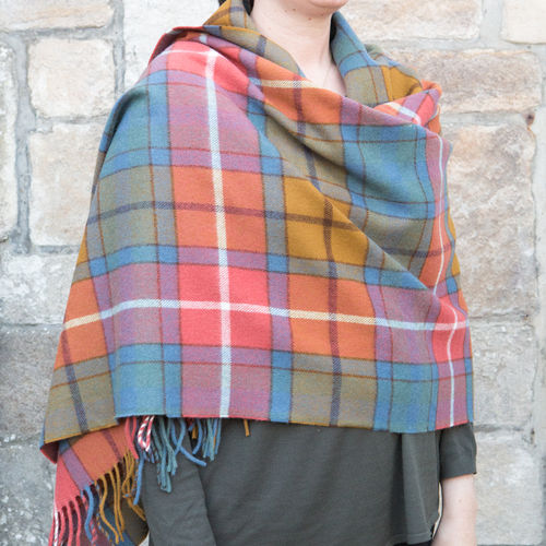 Stole - Tartan 65cm - Antique Buchanan