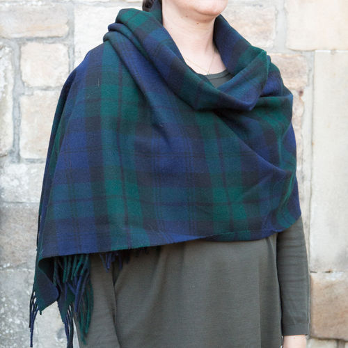 Stole - Tartan 65cm - Black Watch