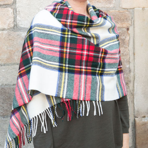 Stole - Tartan 65cm - Dress Stewart