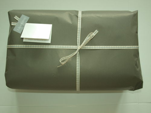Wrapping Paper, Ribbon & Gift Tag (Our Corporate colours)