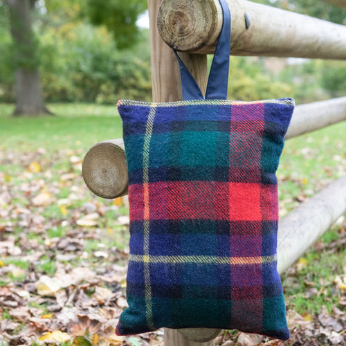 Kneeler Cushion - Tartan Kilgour/Navy