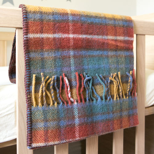 Pram Blanket - Tartan Antique Buchanan