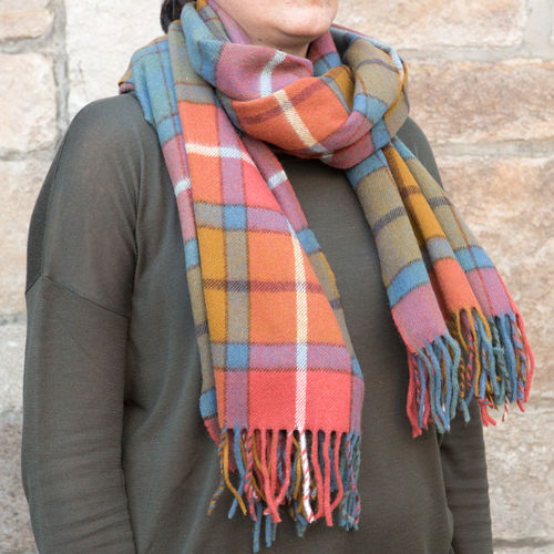 Scarf - Tartan 50cm - Antique Buchanan