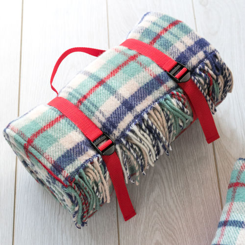 Picnic Blanket - Seaside/Red
