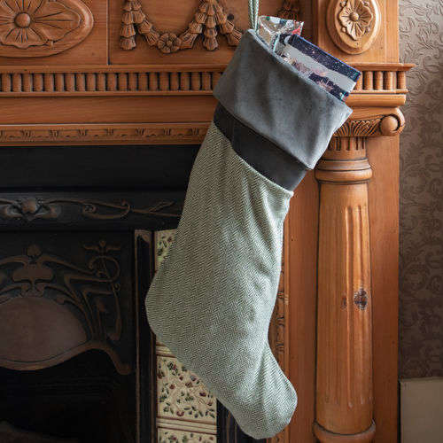 Christmas Stocking - Fern
